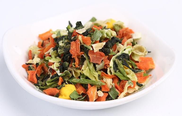 Dried vegetables blend
